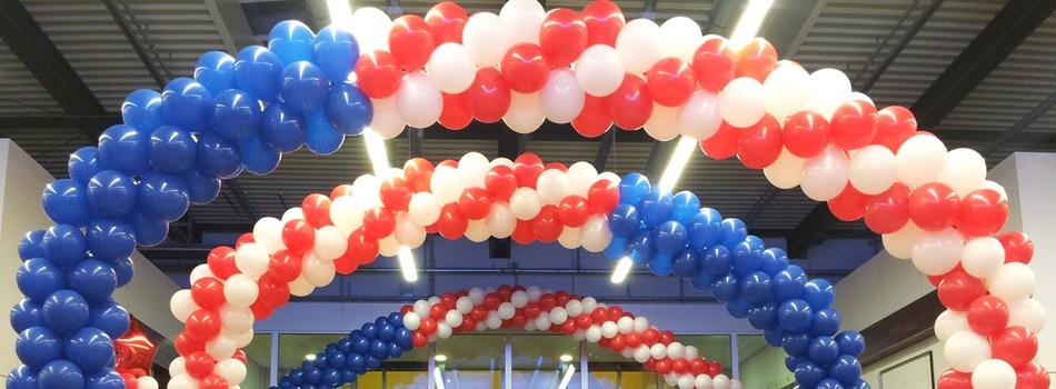 dekorationen und geschenke mit ballons und luftballons luftballondekoration. Black Bedroom Furniture Sets. Home Design Ideas