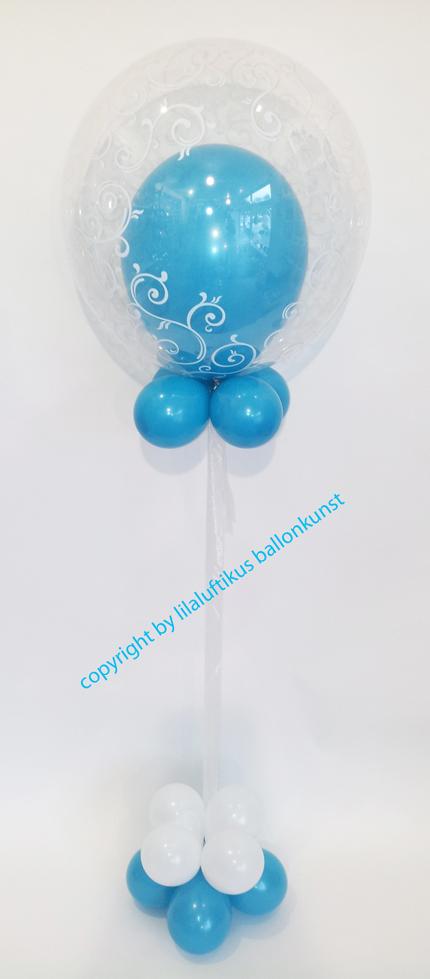 Geburtstag mit luftballons geschenkballon ballongeschenke for Dekoration mit luftballons