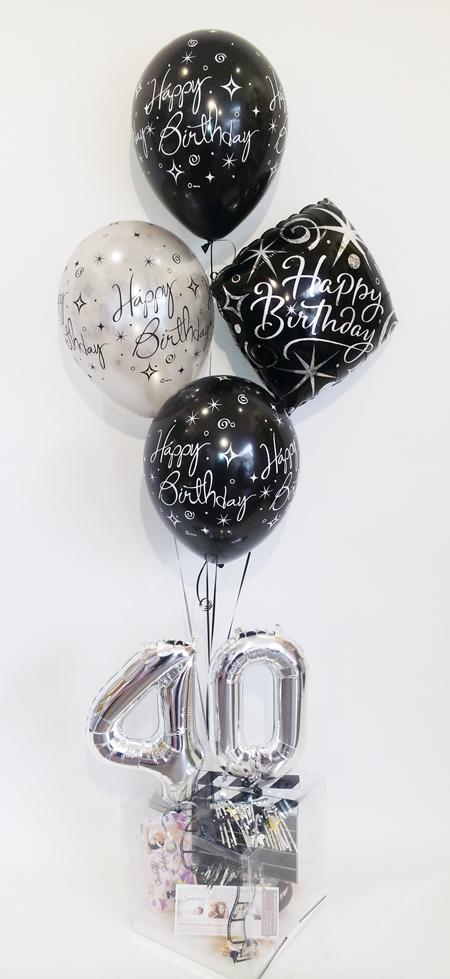 Geburtstag Mit Luftballons Geschenkballon Ballongeschenke