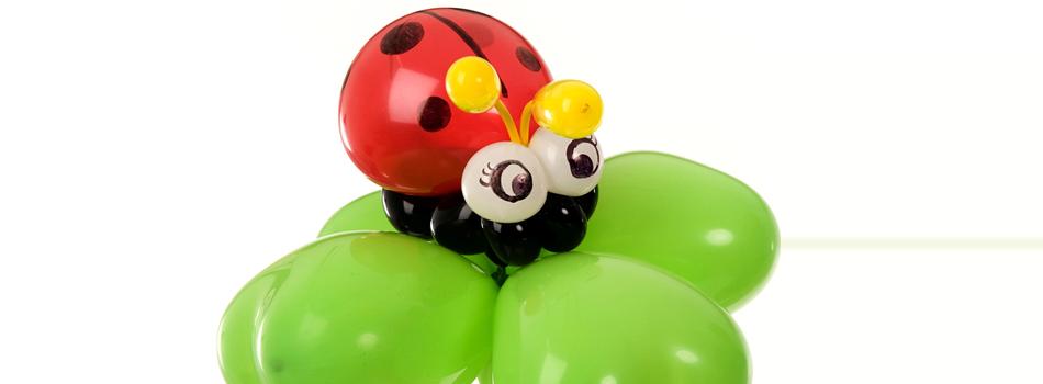 unterlagen luftballons modellieren
